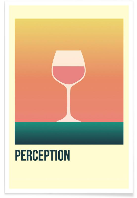Wijn, Perception Rose poster