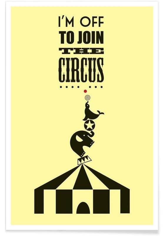 Art pour enfants, Citations et slogans, Circus affiche