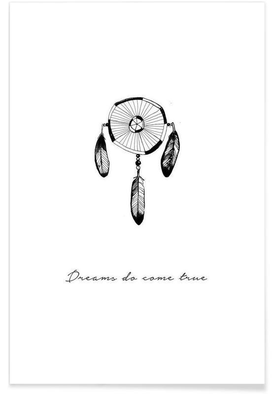Noir & blanc, Motivation, Dreams affiche