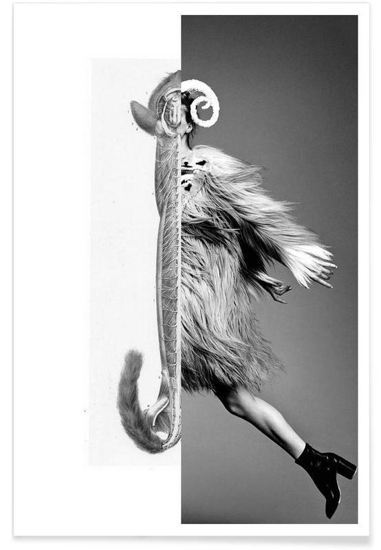 Monkey Lady Poster