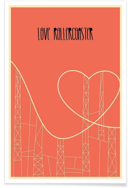 , Love Rollercoaster Poster