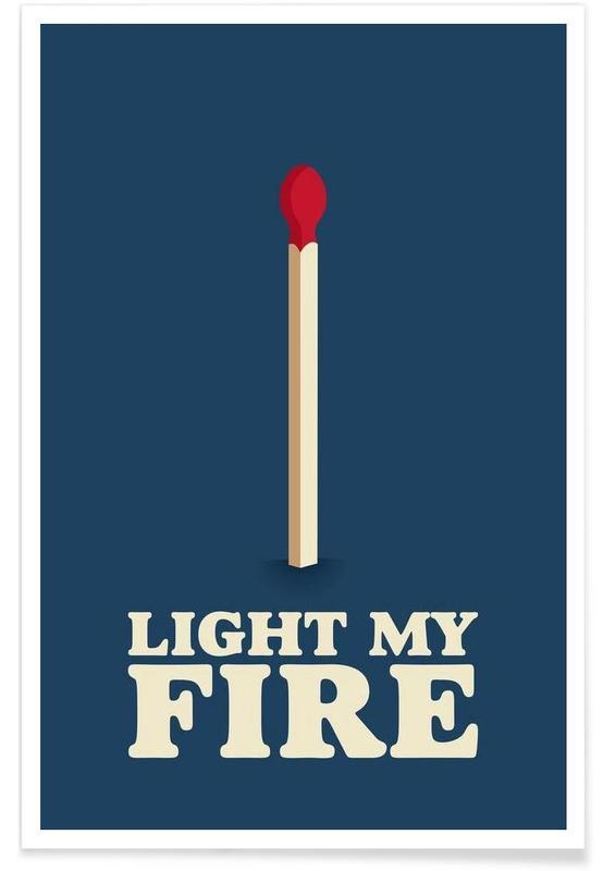Paroles de chansons, Light My Fire affiche