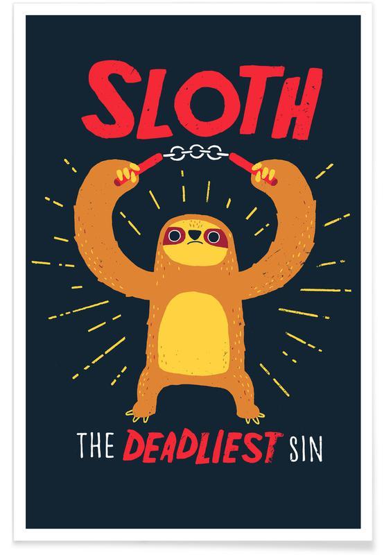 Humor, Dovendyr, The Deadliest Sin Plakat