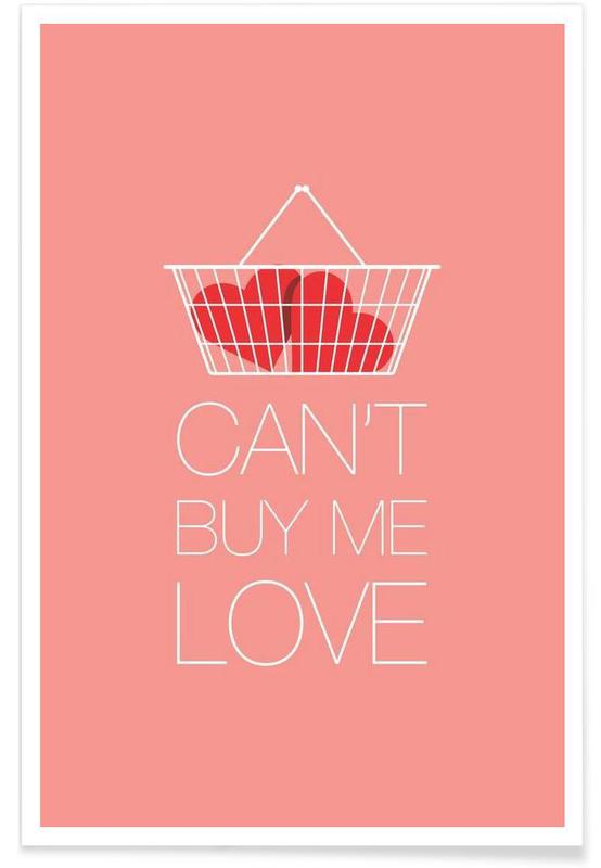 The Beatles, Rock, Can't Buy Me Love affiche