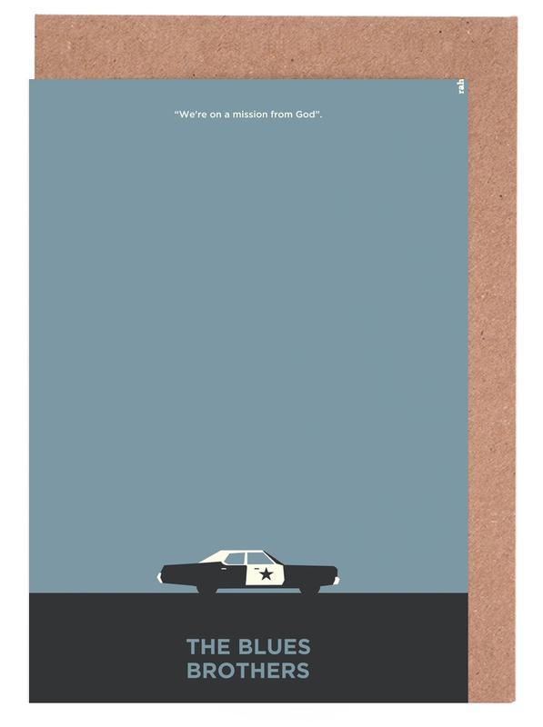 , Blues Brothers cartes de vœux