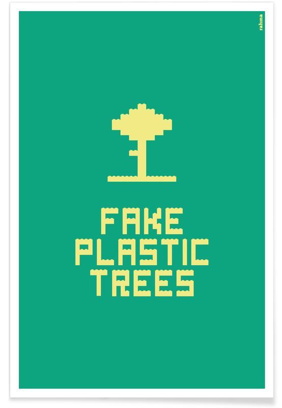 , Fake Plastic Tree Poster