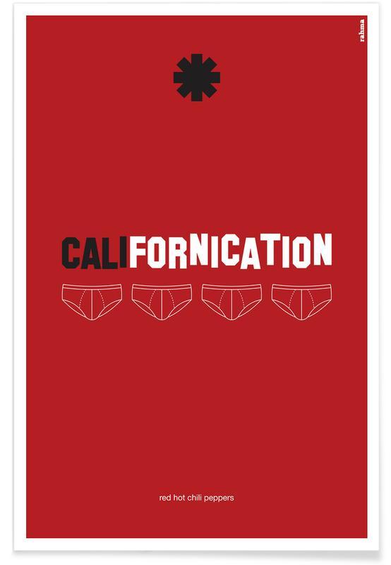 , Californication affiche