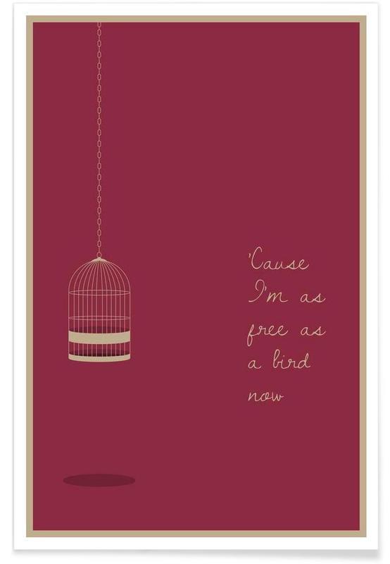Free as a Bird affiche