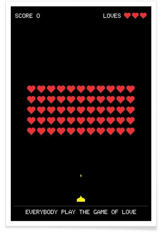 Rock, The Game of Love affiche