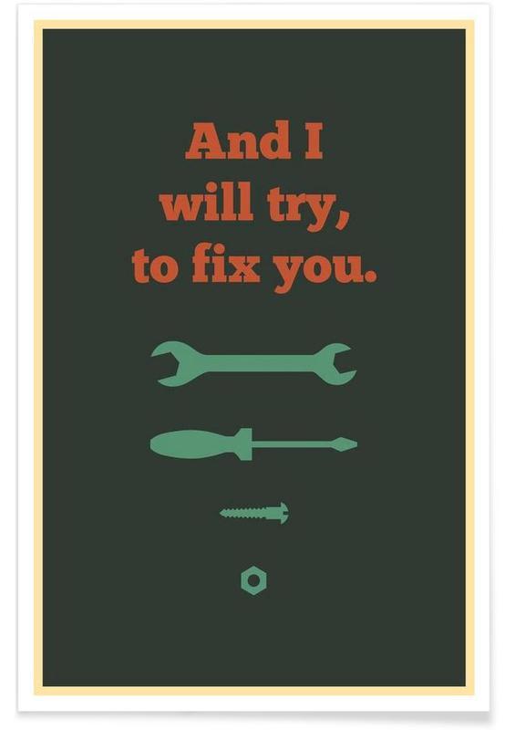 , Fix You affiche