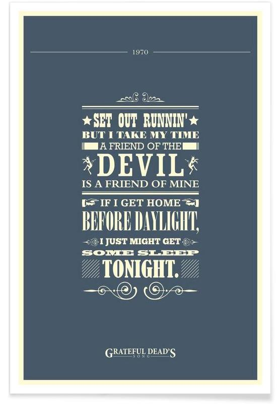 Friend of the Devil affiche
