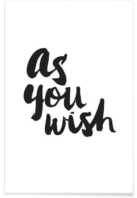 As You Wish affiche