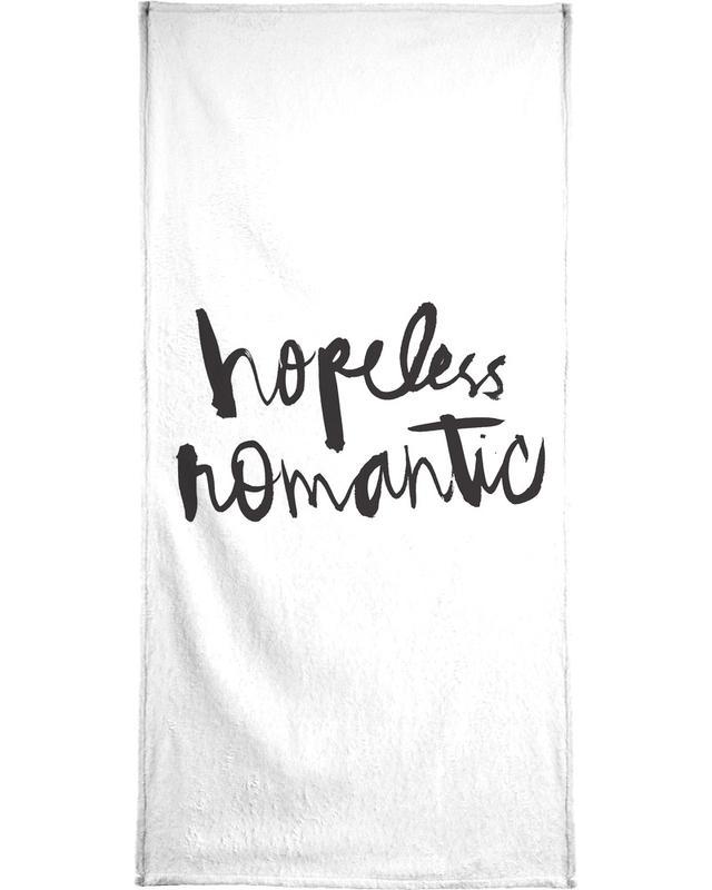 Hopeless Romantic Bath Towel