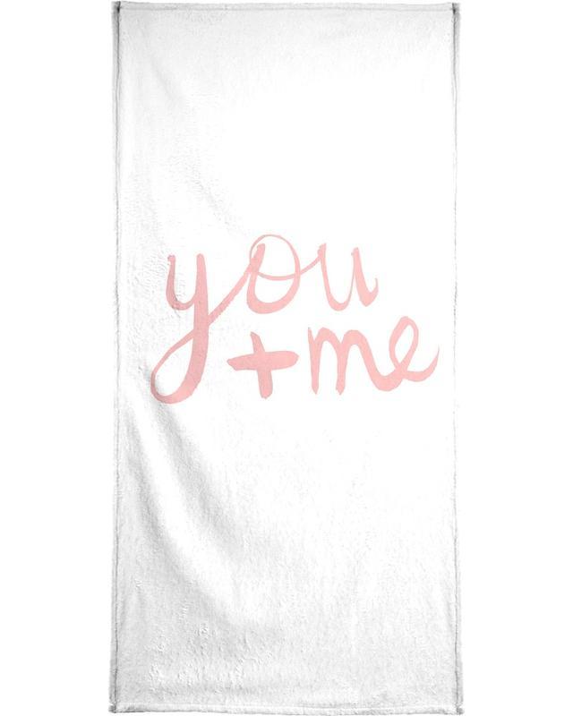 You and Me serviette de bain