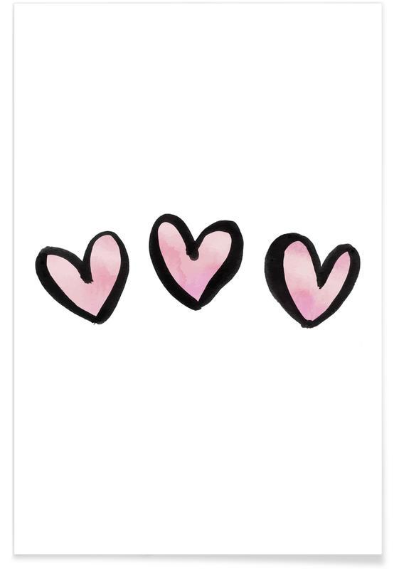 Hearts, Anniversaries & Love, Valentine's Day, Hearts Poster