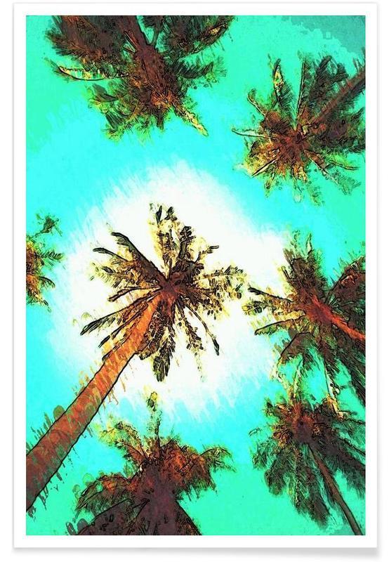 Palmiers, Paradise affiche