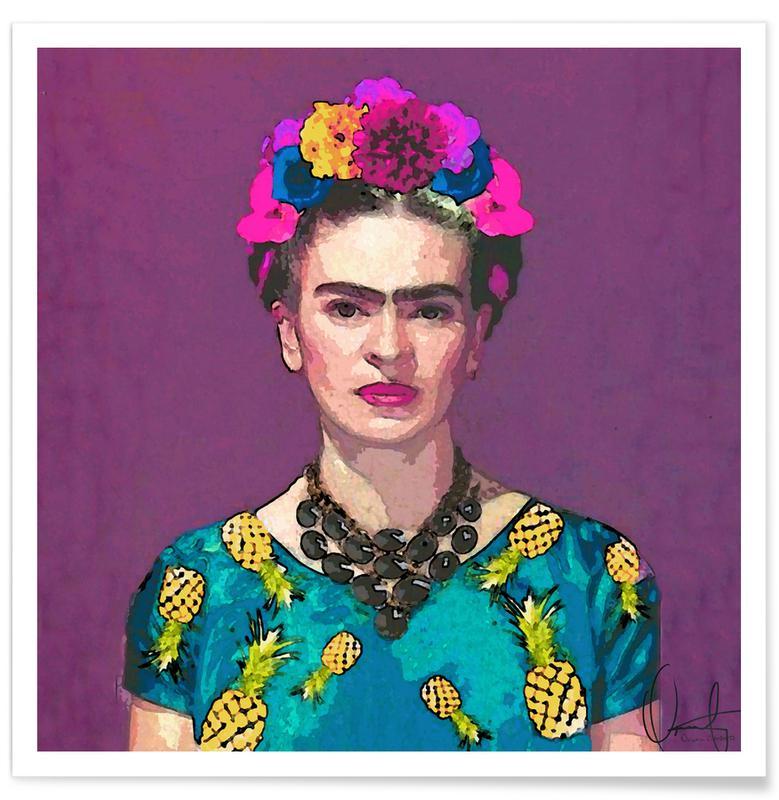 Frida Kahlo, Trendy Frida affiche