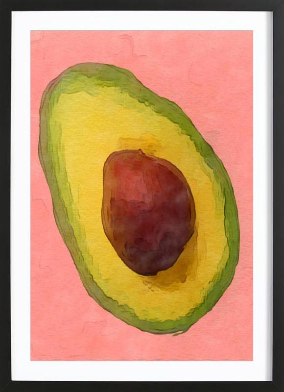 Avocado for Lola Framed Print