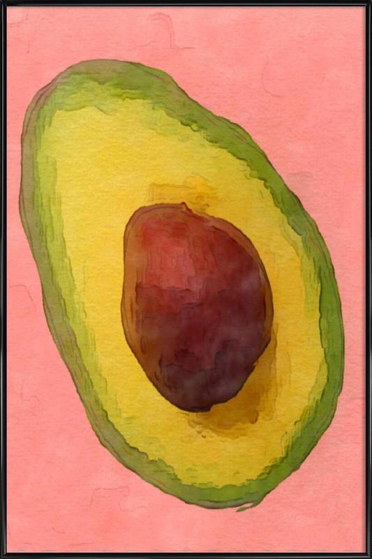 Avocado for Lola Framed Poster
