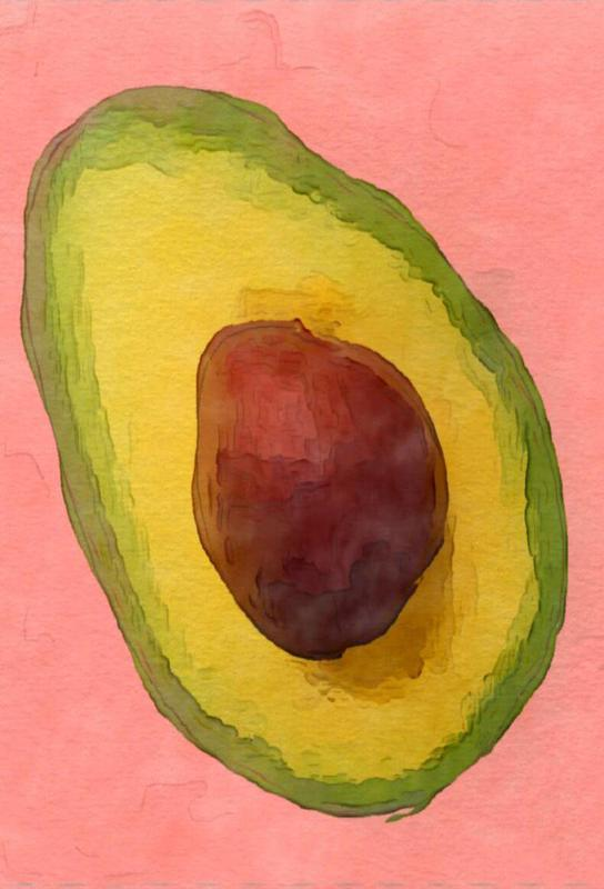 Avocado for Lola Acrylic Print