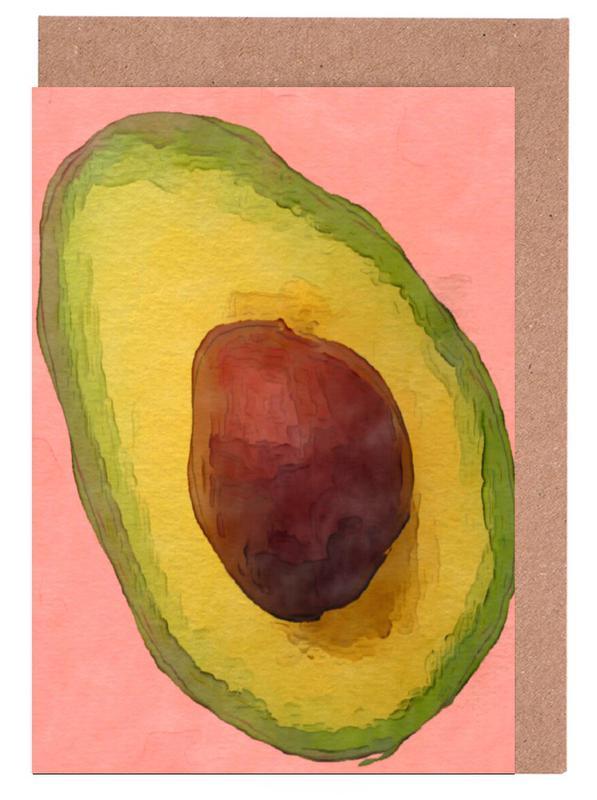 Avocado for Lola -Grußkarten-Set