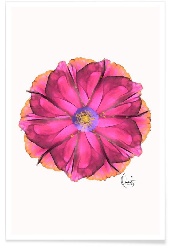 Athena Flower affiche