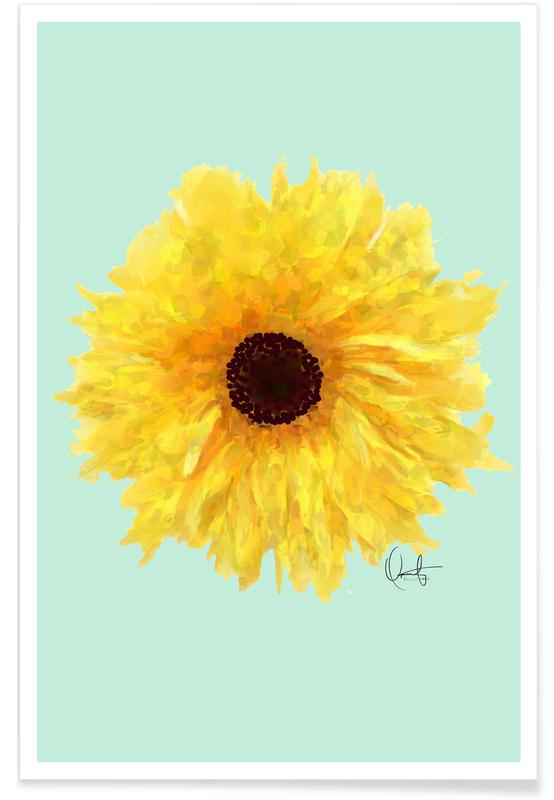 Sunflowers, Sol Poster
