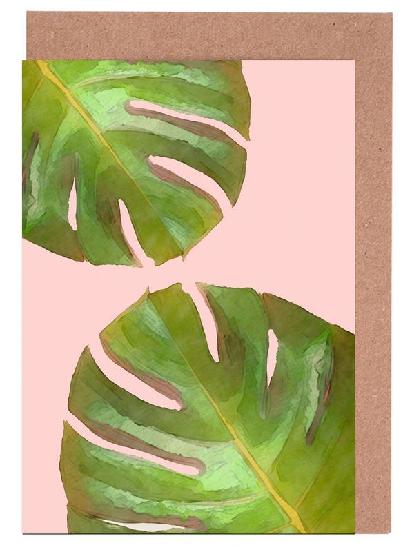 Blätter & Pflanzen, Tropico -Grußkarten-Set