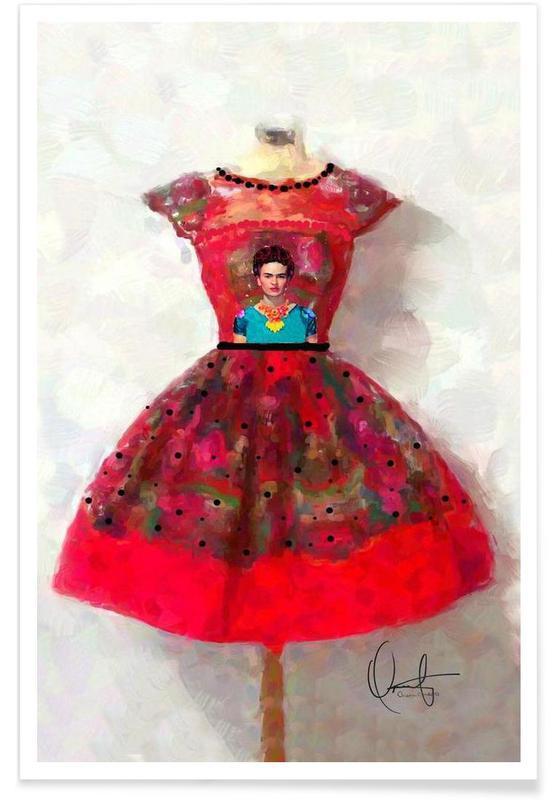 Frida Kahlo, Illustrations de mode, O'h So Frida affiche
