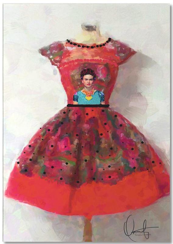 Modeillustration, Frida Kahlo, O'h So Frida -Notizblock