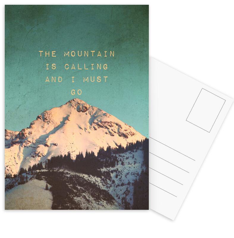Mountain Is Calling Postcard Set