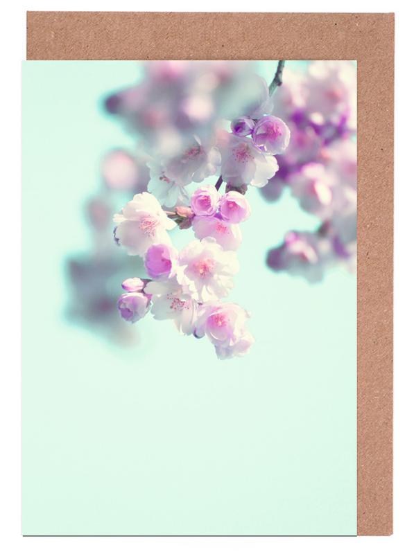 Cherry Dance Greeting Card Set