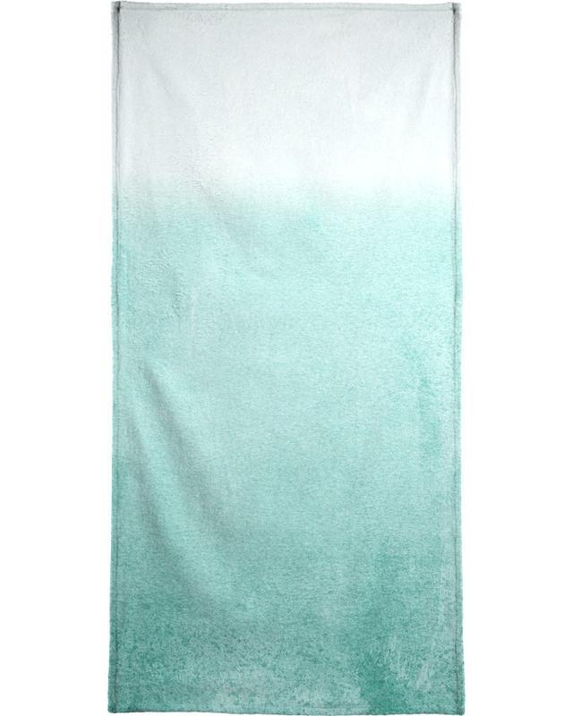 Fading Aqua Beach Towel