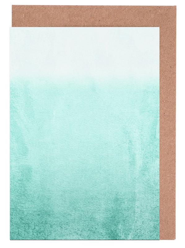 Fading Aqua cartes de vœux
