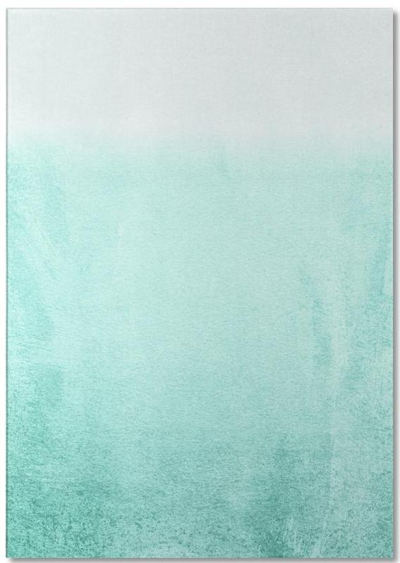 Fading Aqua Notepad