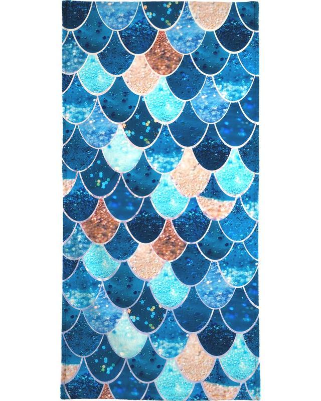 Mermaid Blue -Handtuch