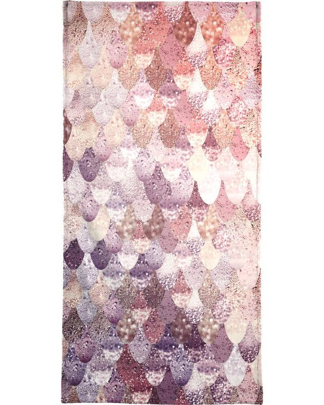 Mermaid Rosegold Beach Towel