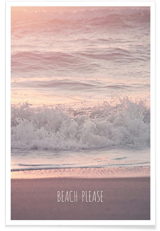 Beach Please -Poster