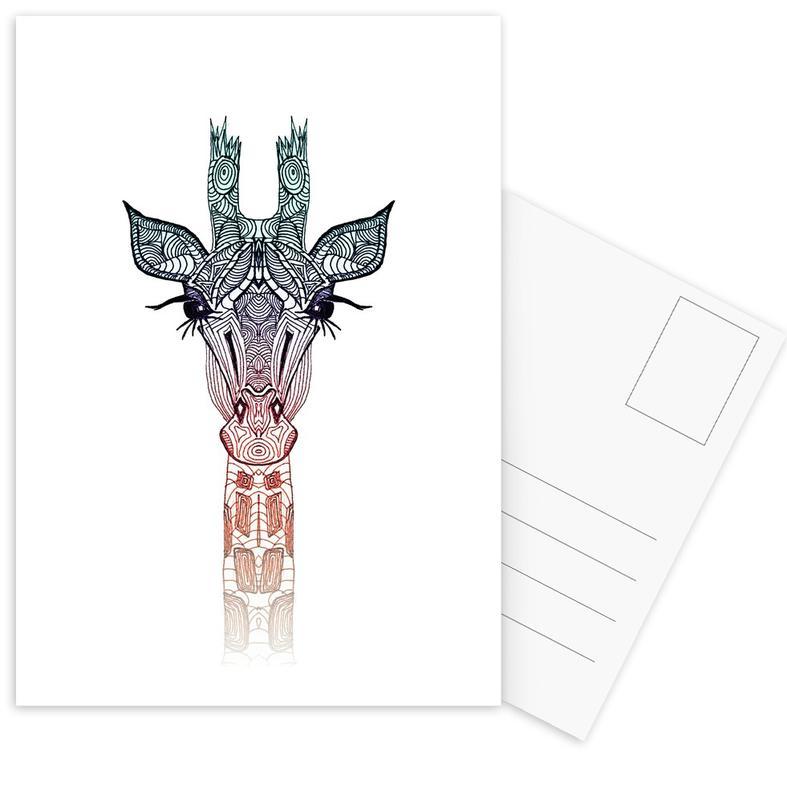 Giraffe Postcard Set