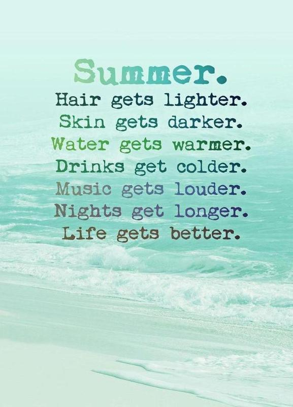 Summer -Leinwandbild
