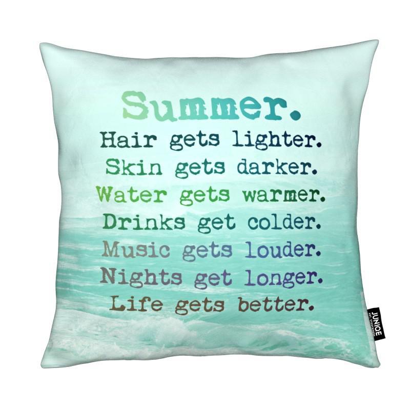 Motivation, Citations et slogans, Summer coussin