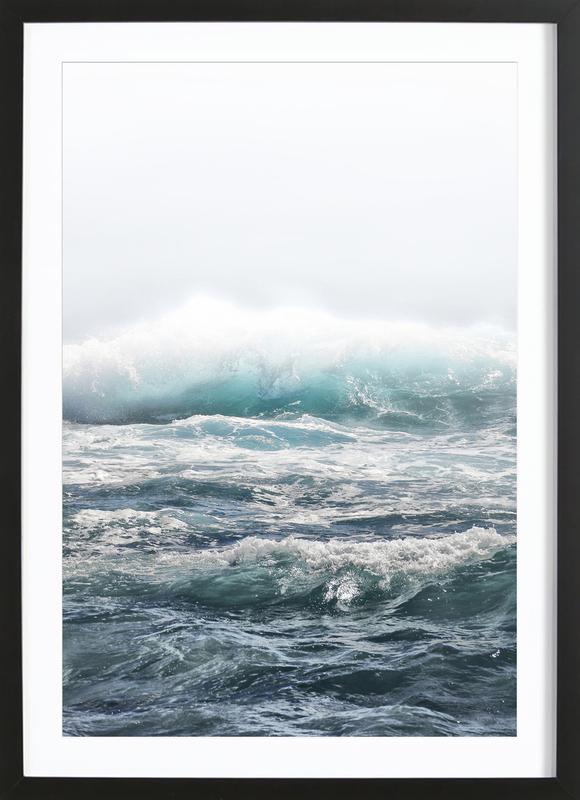 Big Splash Hawaii Framed Print