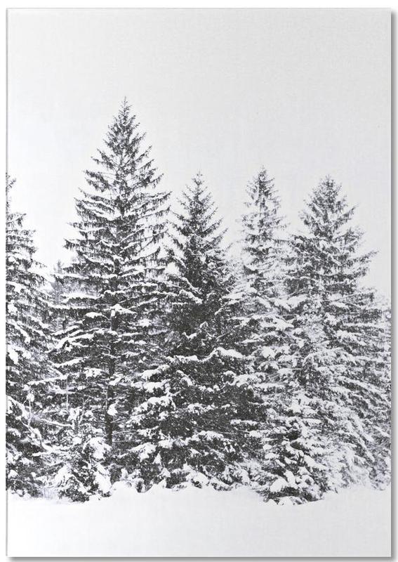 Black Wintertrees Notepad