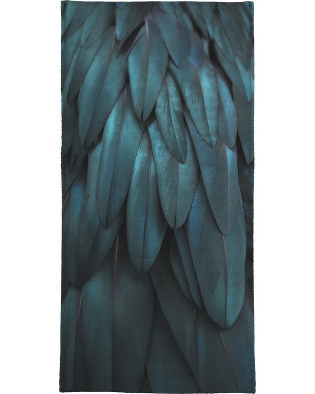 Dark Feathers serviette de bain