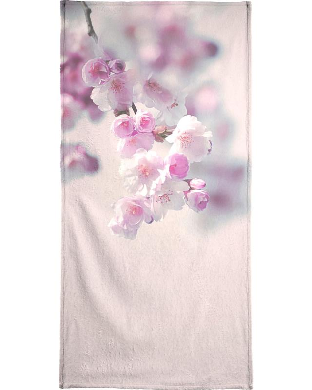Pastel Rose Cherry II -Strandtuch