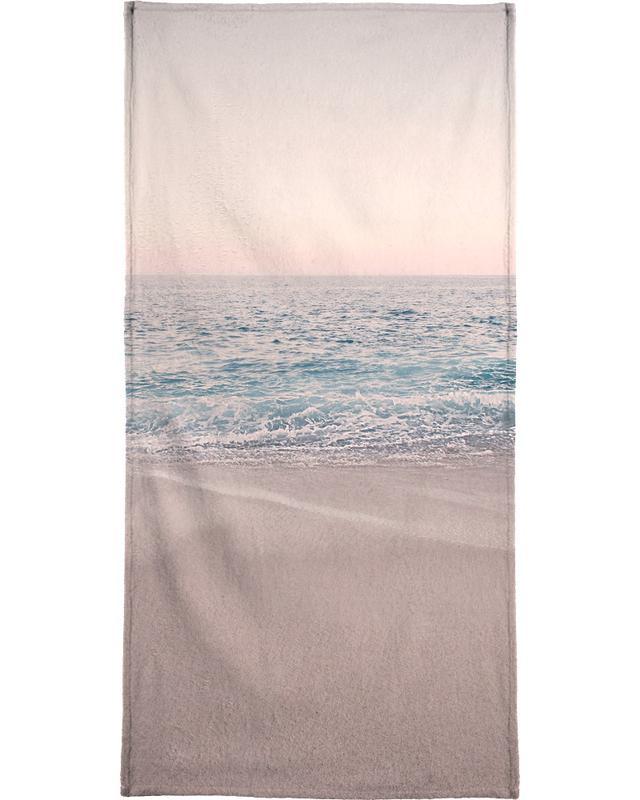 Rosegold Beach Morning Beach Towel