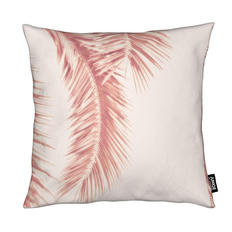 Rose Palm Leaves coussin