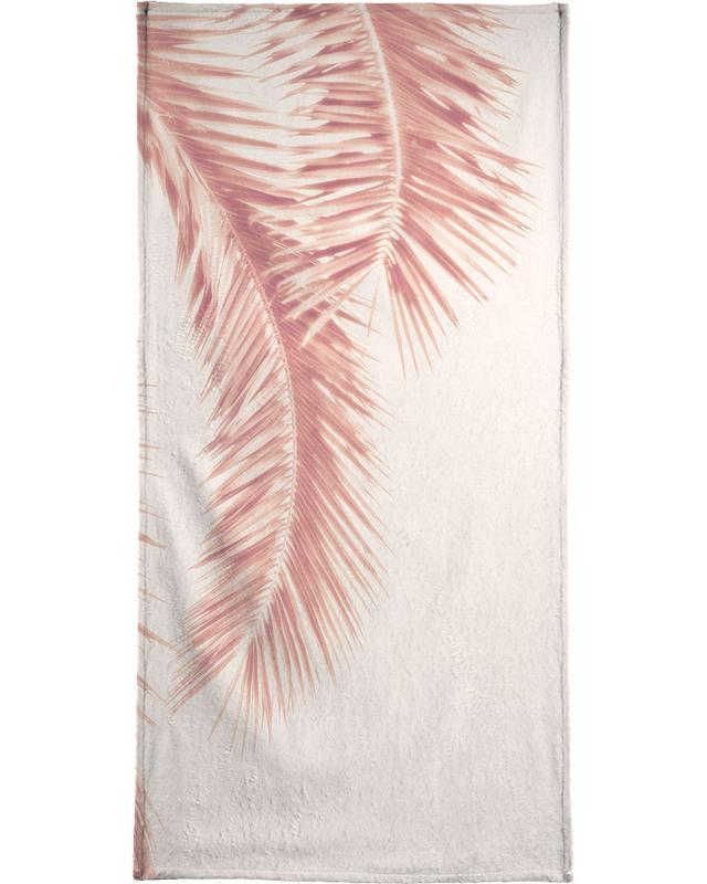 Rose Palm Leaves serviette de bain