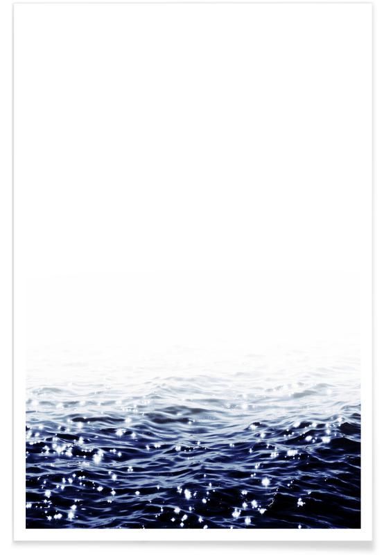 Sparkling Sea Poster