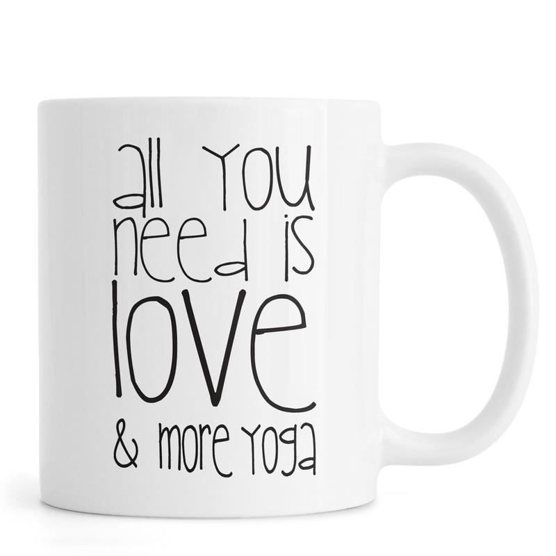 Love and Yoga Mug
